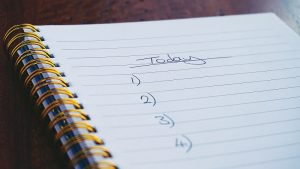 second semester to do list executive functioning tutoring