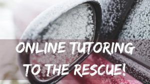 online tutoring weather illness travel