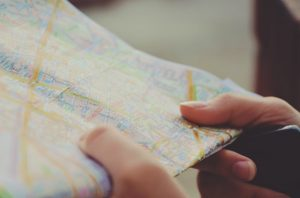 holding map directions act sat prep